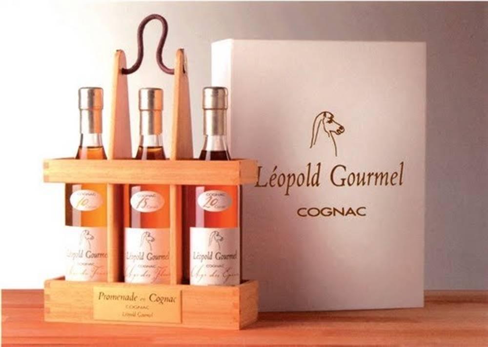 Leopold Gourmel Cognac Promenade 3x 0,2l 40%