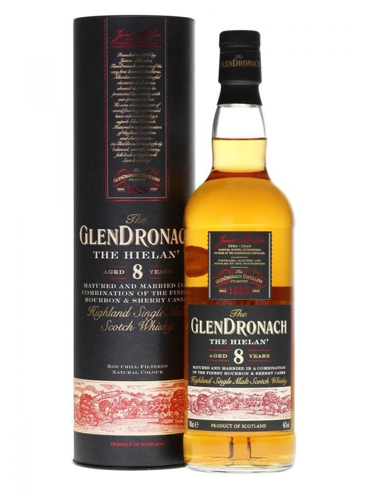 Glendronach The Hielan 8y 0...
