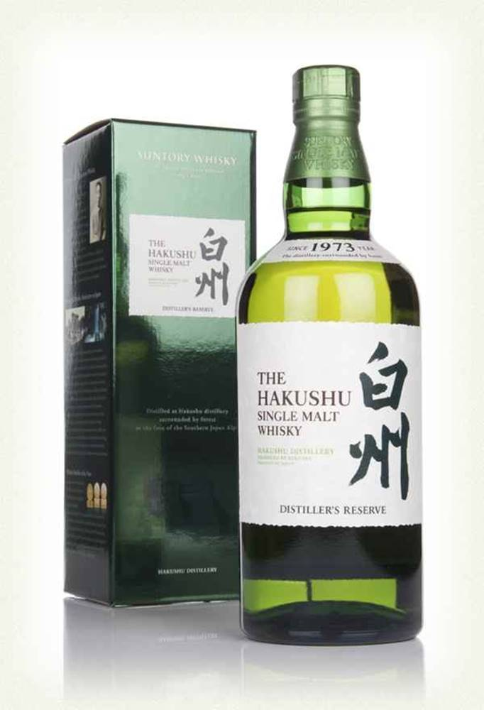 Suntory Hakushu Hakushu Single Malt 0,7l 43%