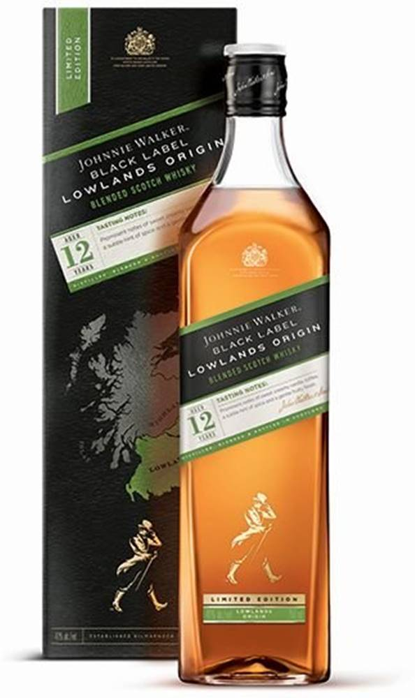 Johnnie Walker Johnnie Walker Black Label Lowlands Origin 12y 1l 42%