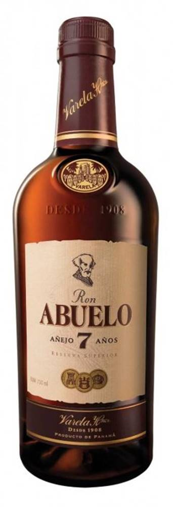 Abuelo Ron Abuelo 7y 0,7l 40%