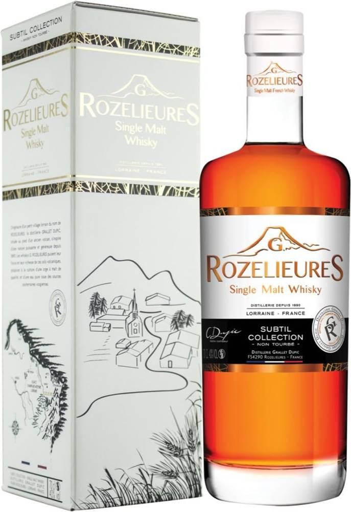 G. Rozelieures Rozelieures Subtil Collection 0,7l 40%
