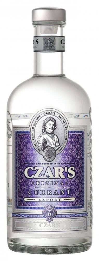 Ladoga Group Vodka Czar´s Original Currant 0,7l 40%