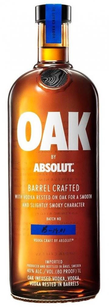 Absolut Absolut Oak 1l 40%