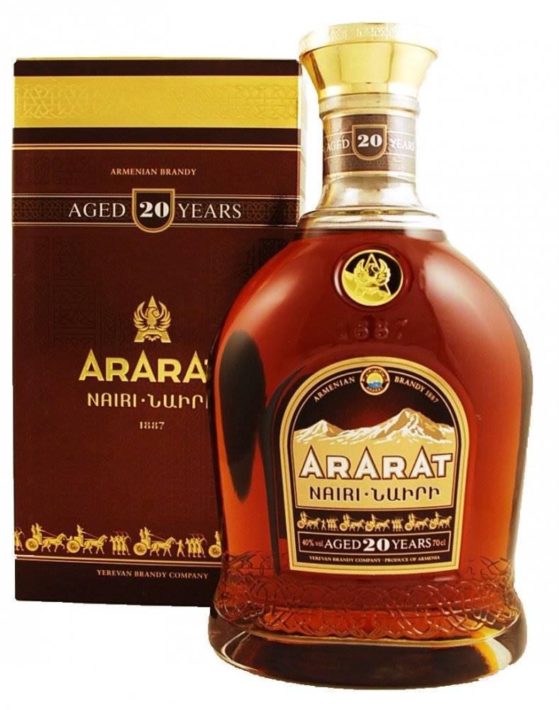 Ararat Brandy Ararat 20y 0,7l 40%