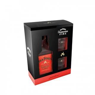Jack Daniel's Fire 0,7l 35% + 2x sklo GB