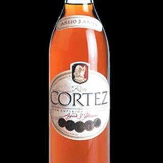 Ron Cortez Añejo 3y 0,7l 37,5%