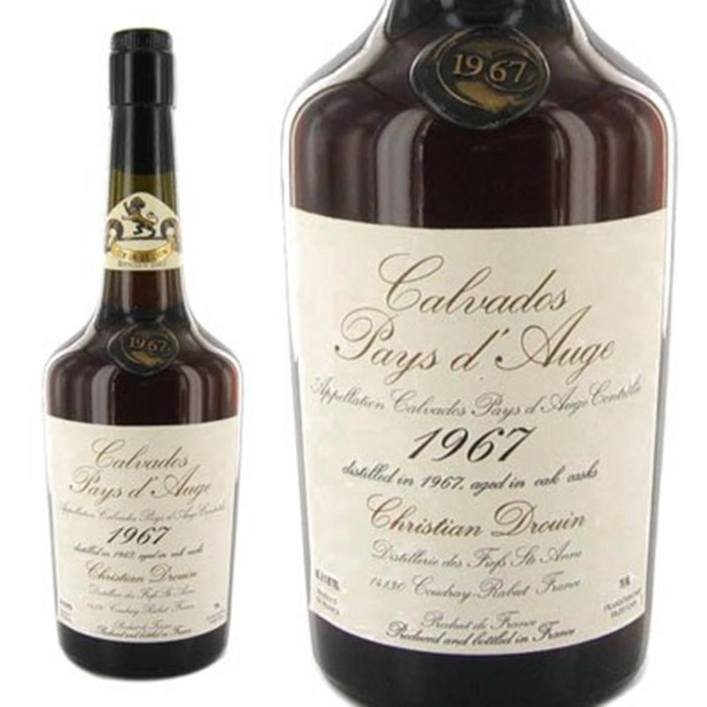 Christian Drouin Calvados Pays d´Auge 1974 0,7l 42%
