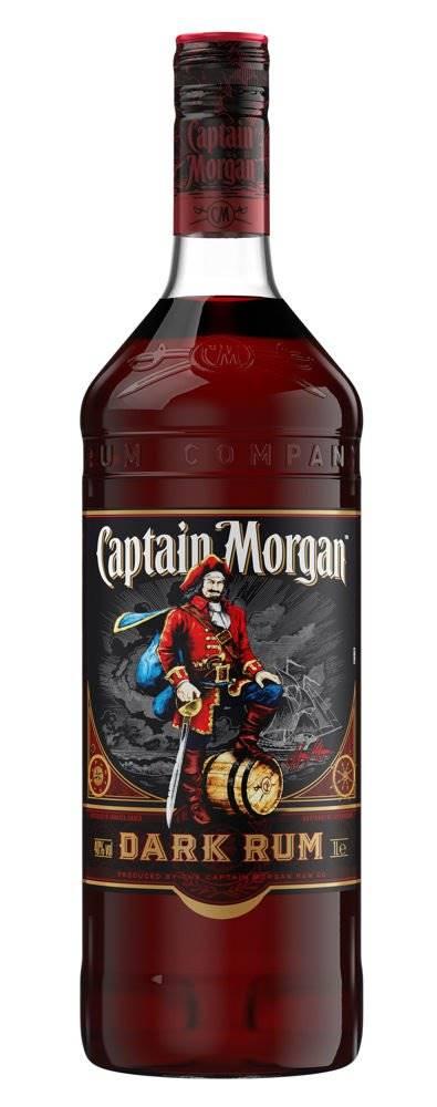 Captain Morgan Captain Morgan Dark 1l 40%