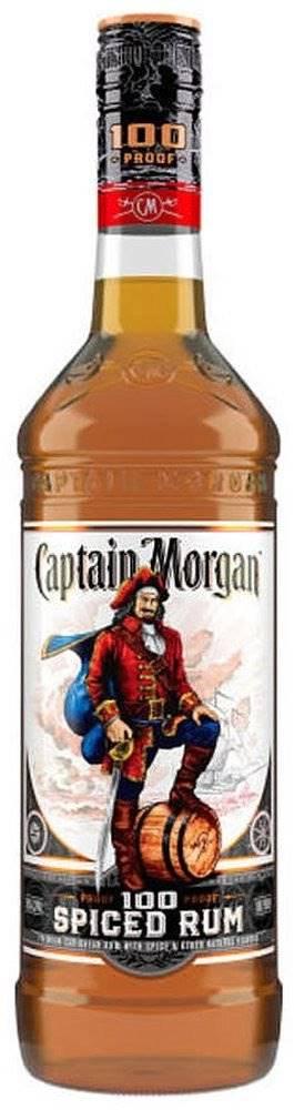 Captain Morgan Captain Morgan Spiced 100 Proof 1l 50%