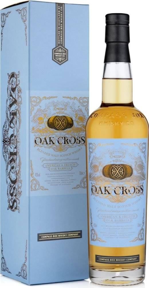 Compass Box Compass Box Oak Cross 0,7l 43%