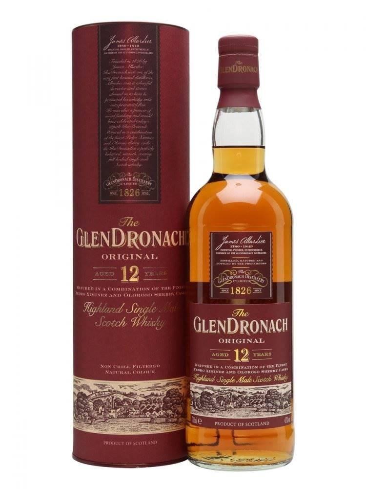 GlenDronach 12y 0,7l 43%