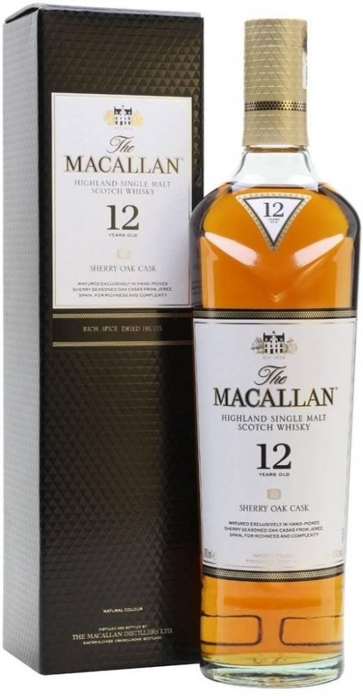 Macallan Sherry Oak 12y 0,7...