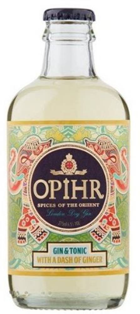 Opihr Opihr Gin&Tonic Dash of Gingerl 0,275l 6,5%