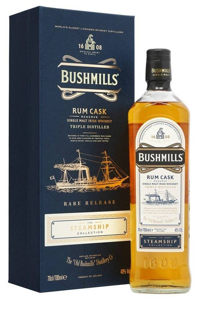 Bushmills Bushmills Rum Cask Steamship 0,7l 40%
