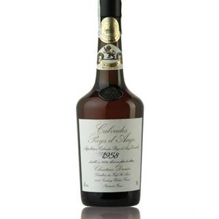 Calvados Christian Drouin Millesime 1958 0,7l 42%