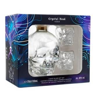 Crystal Head Vodka 0,7l 40% + 2x sklo GB
