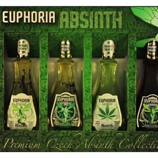 Euphoria Absinth mini set 4×0,05l 70% GB