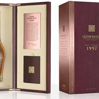 Glenmorangie Grand Vintage Malt 24y 1997 0,7l 43% Dřevěný box / Rok lahvování 2021