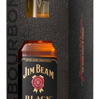 Jim Beam Black Extra Aged Bourbon 0,7l 43% + 1x sklo GB