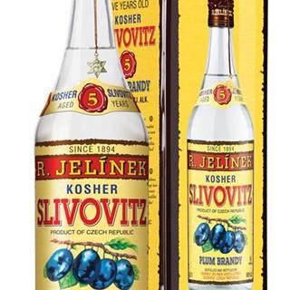 Slivovice Kosher Silver 5y 0,7l 50% Plech