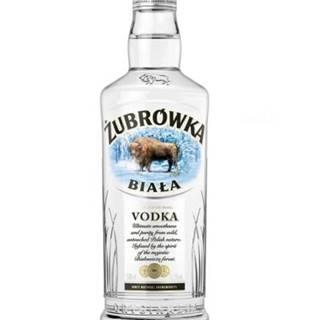 Zubrowka Biala Vodka 0,5l 37,5%