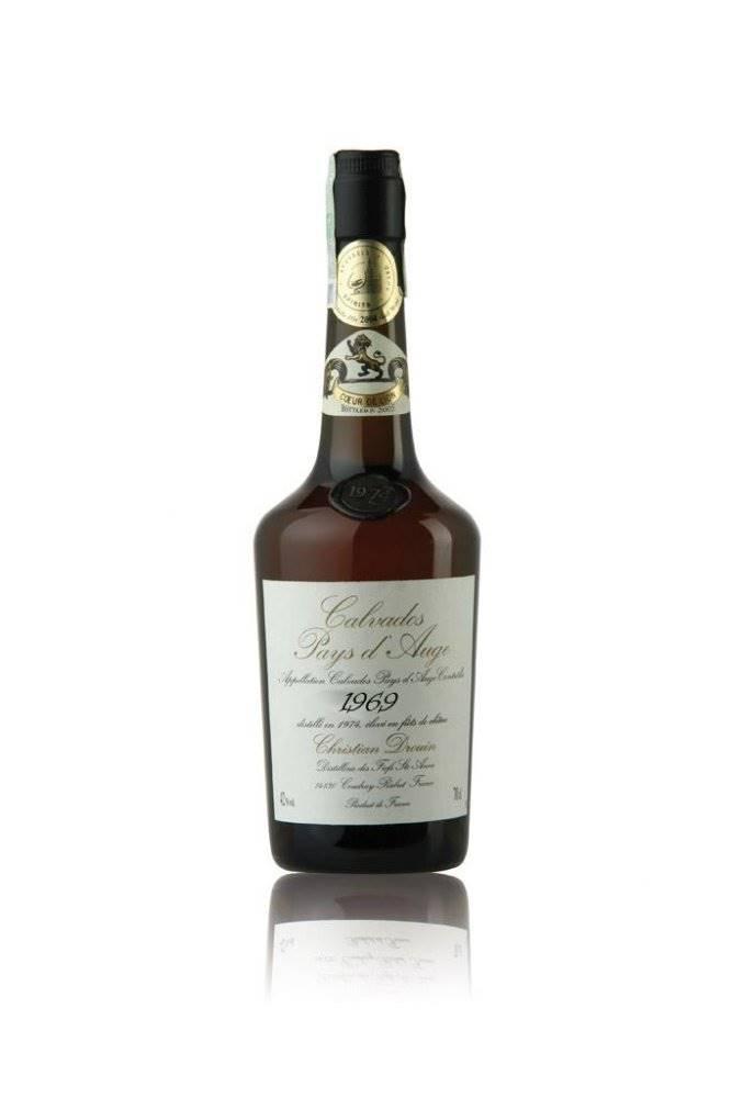 Christian Drouin Calvados Christian Drouin Millesime 1969 0,7l 42%