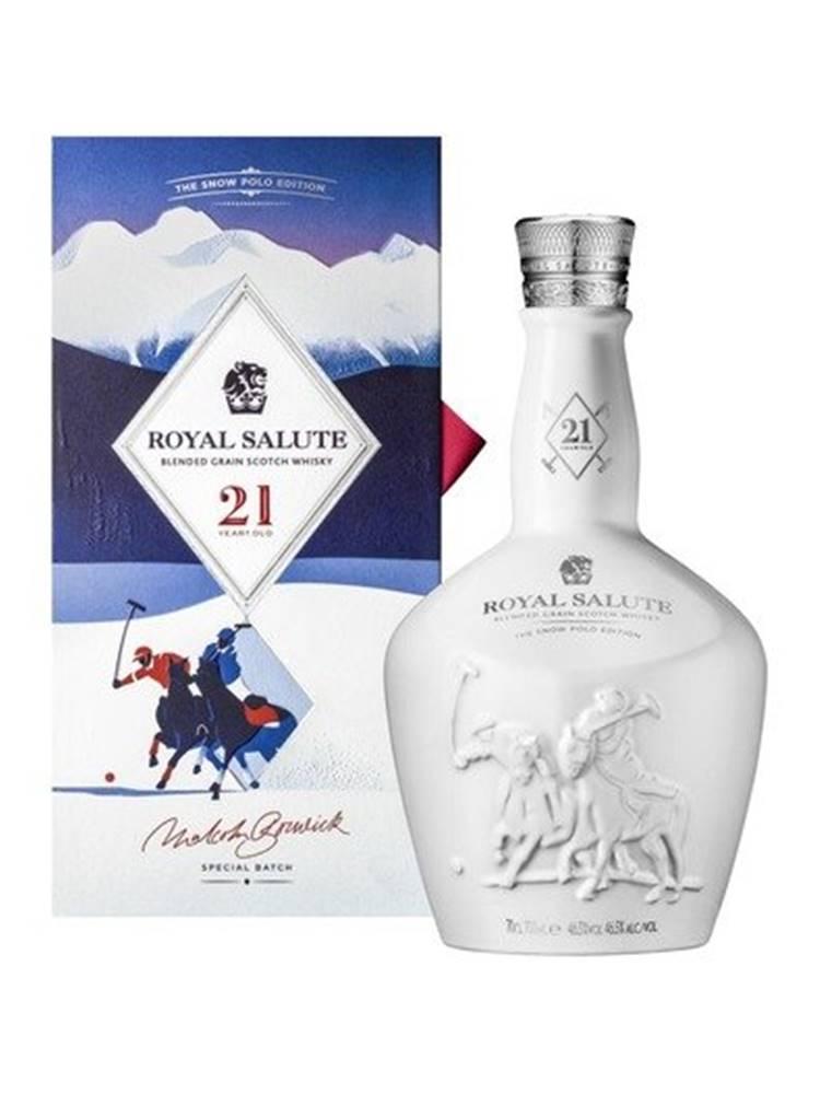 Chivas Regal Chivas Regal Royal Salute Snow Polo Edition 21y 0,7l 46,5% L.E.