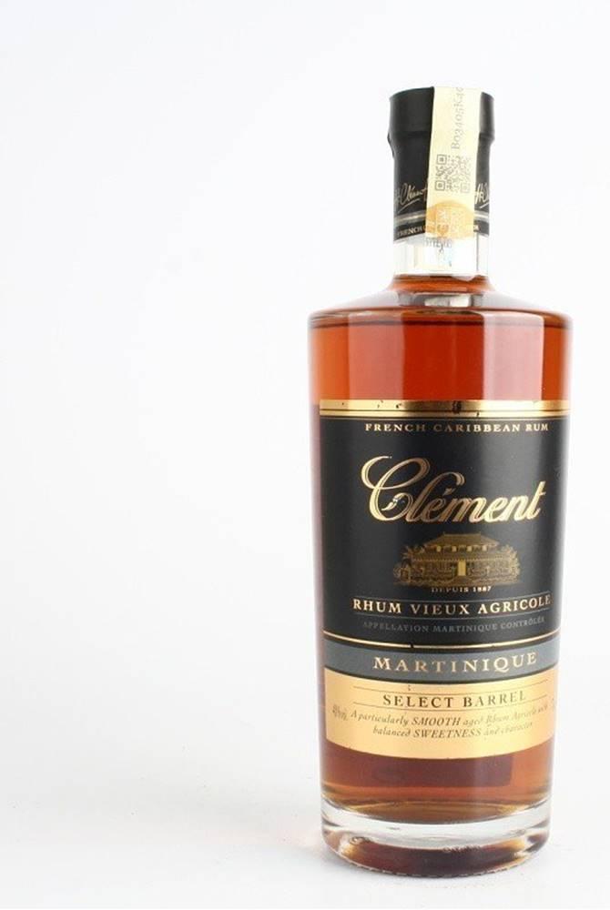 Clement Clement Select Barrel 3y 0,7l 40%