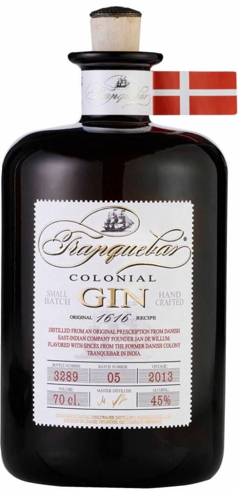 Gin Tranquebar Colonial Dry...
