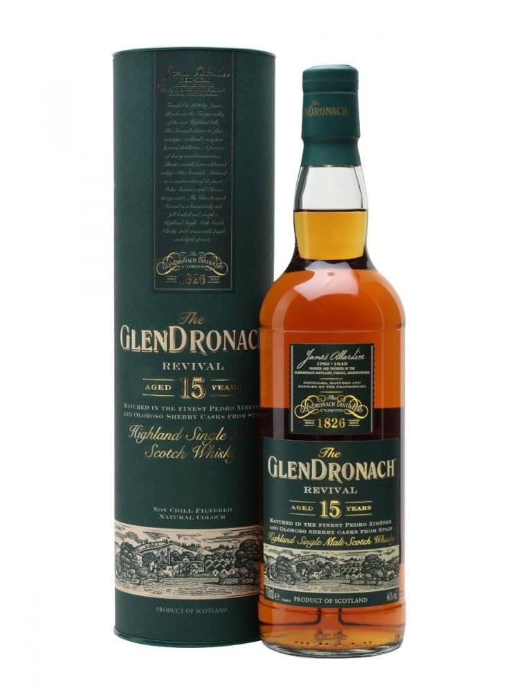 GlenDronach GlenDronach Revival 15y 0,7l 46%