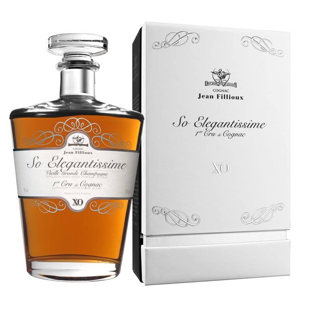 Jean Fillioux Jean Fillioux So Elegantissime Cognac XO 0,7l 40%