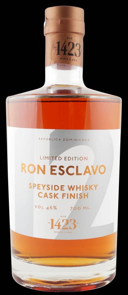 1423 – World Class Spirit Ron Esclavo Speyside Whisky 12y 0,7l 46% L.E.
