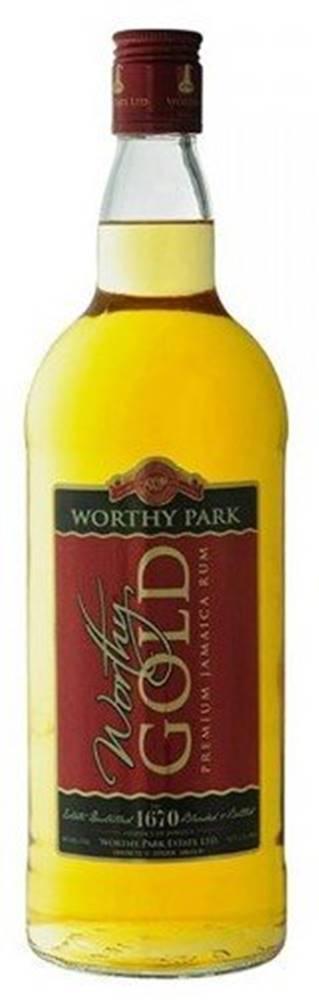 Worthy Park  Gold 1l 40%