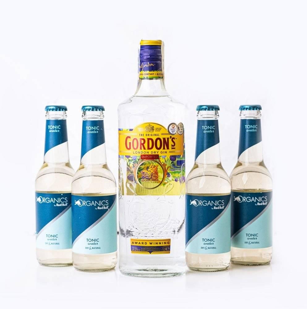 Gordon's Gordons Gin 0,7l + 4x Tonic