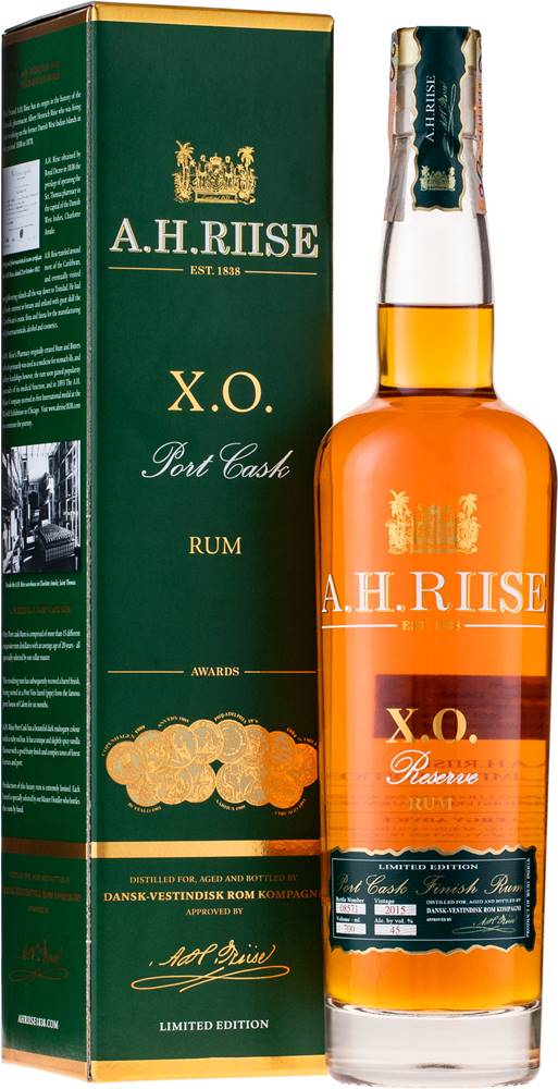 A.H.Riise A.H. Riise XO Port Cask 45% 0,7l