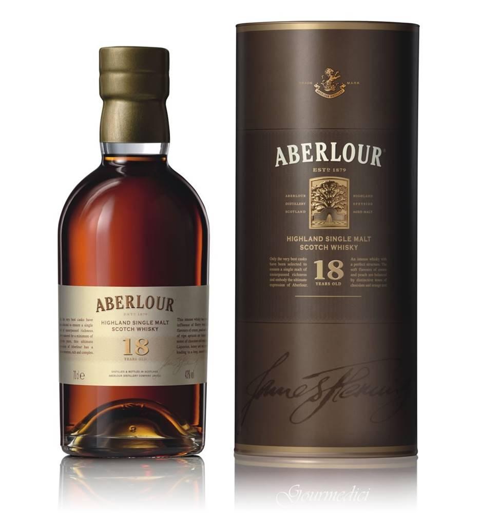 Aberlour Aberlour 18 ročná 43% 0,7l