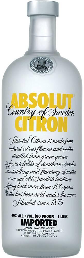 Absolut Absolut Citrón 1l 40%