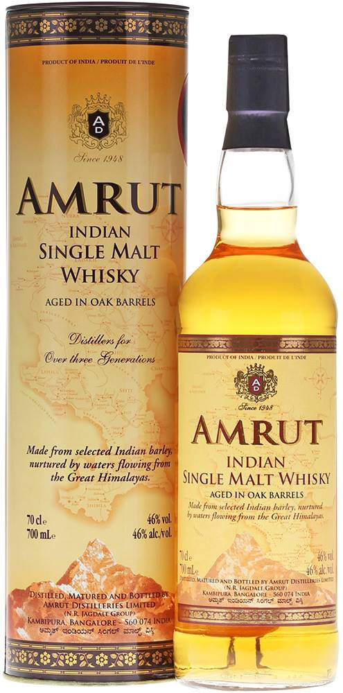 Amrut Amrut Single Malt 46% 0,7l