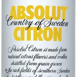 Absolut Citrón 1l 40%
