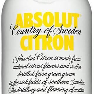 Absolut Citrón 40% 0,7l
