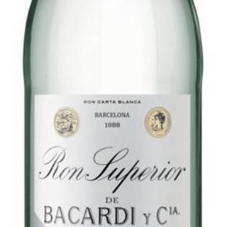 Bacardi Ron Superior Heritage 44,5% 0,7l