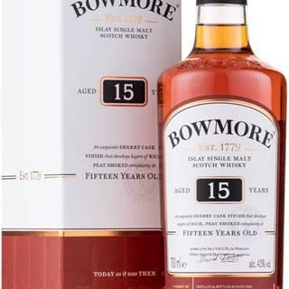 Bowmore 15 ročná 43% 0,7l
