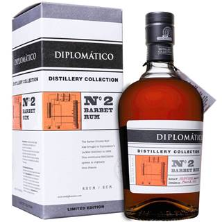 Diplomático Distillery Collection No. 2 Barbet Column 47% 0,7l