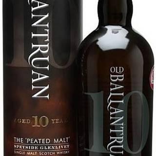 Old Ballantruan Peated Unchillfiltered 10 ročná 50% 0,7l