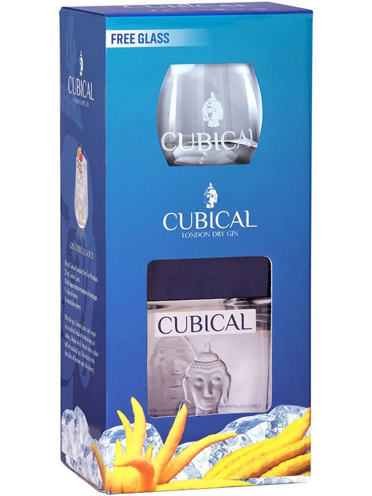Cubical Cubical Premium s pohárom 40% 0,7l