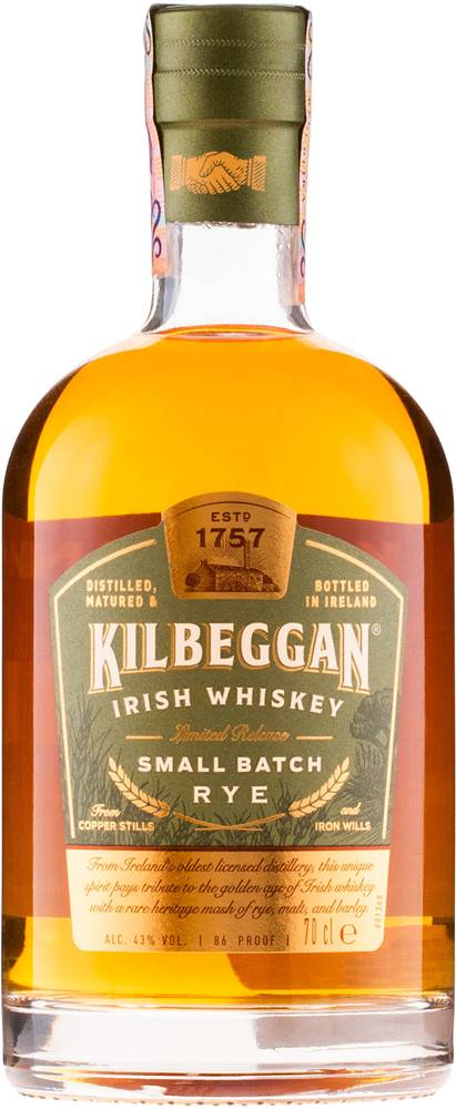Kilbeggan Kilbeggan Small Batch Rye 43% 0,7l