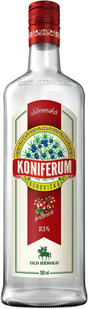 Old Herold Koniferum Borovička s brusnicami 37,5% 0,7l