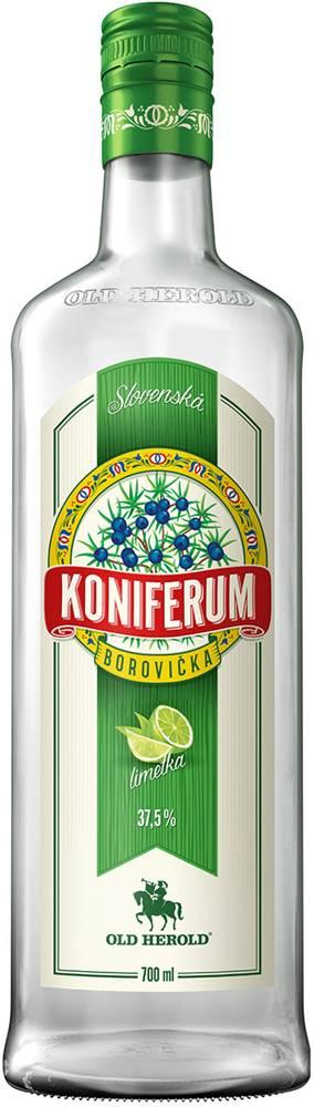 Old Herold Koniferum Borovička s limetkou 37,5% 0,7l