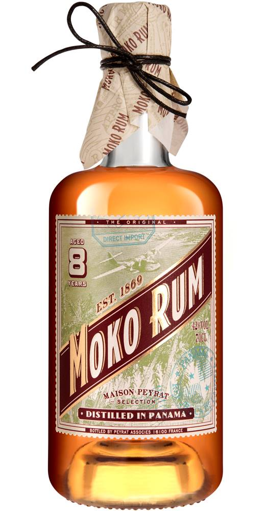 Moko Rum Moko Rum 8 ročný 42% 0,7l
